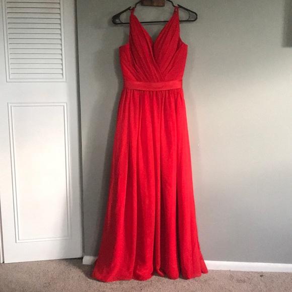 Dresses Formal Dress Red Great For Black Tie Wedding Poshmark